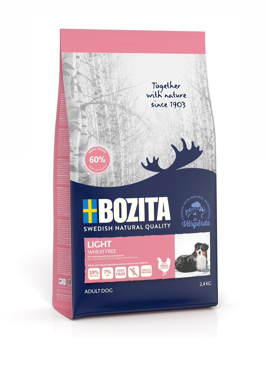Bozita Light Wheat Free 2,4kg