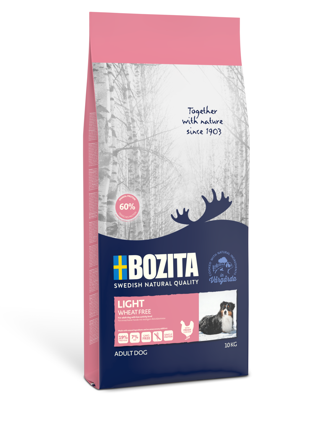 Bozita Light Wheat Free 10kg