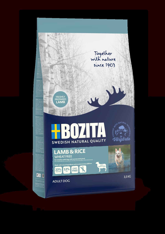 Bozita Lamb & Rice Wheat Free 3,5kg