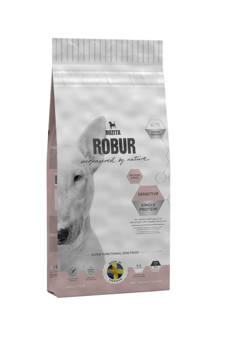 Robur Sensitive Single Protein Salmon & Rice 12,5kg
