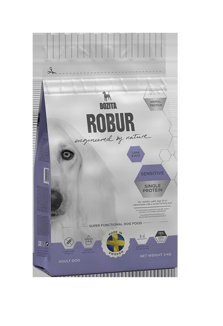 Robur Sensitive single protein Lamb & Rice 3kg