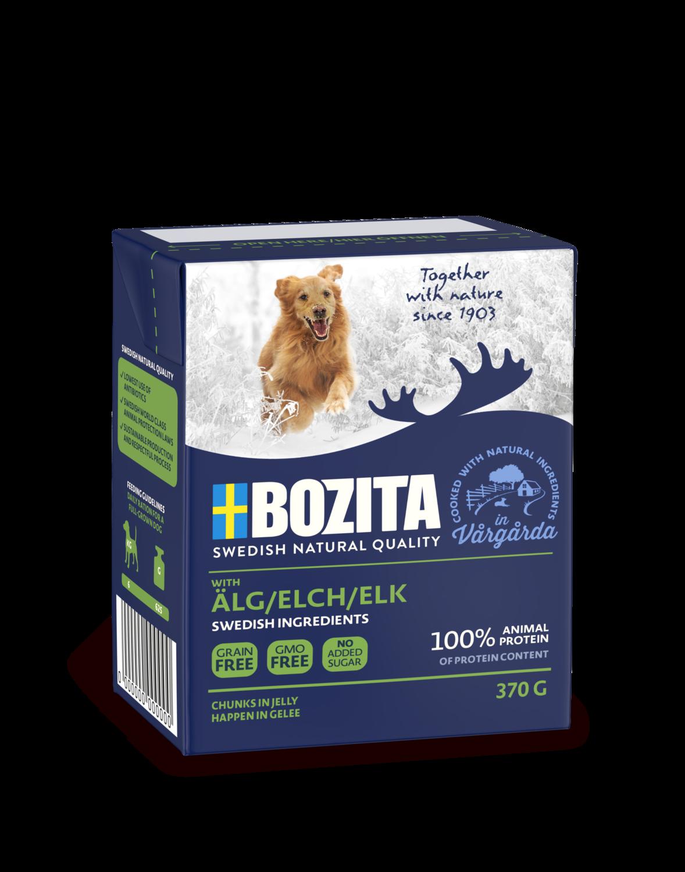 Bozita Bocconcini con  Alce Grain Free 370gr