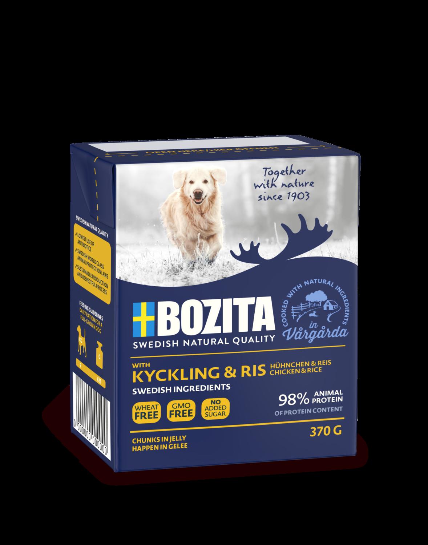 Bozita Bocconcini con Pollo & Riso Grain Free 370gr