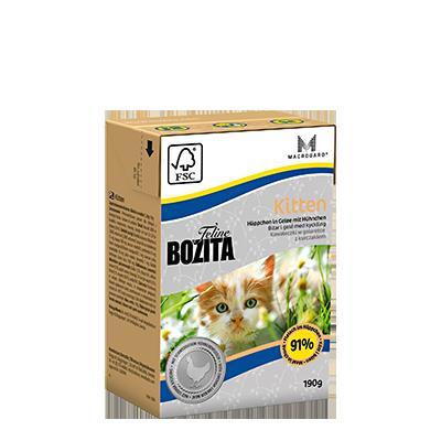 Bozita Feline Kitten Tetra 190gr