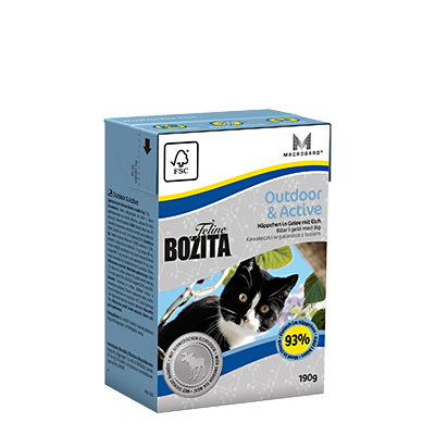 Bozita Feline Outdoor&Active Tetra 190gr