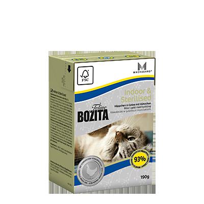 Bozita Feline Indoor & Sterilised Tetra 190gr