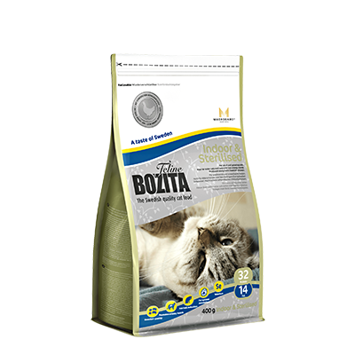 Bozita Feline Indoor & Sterilised 400gr