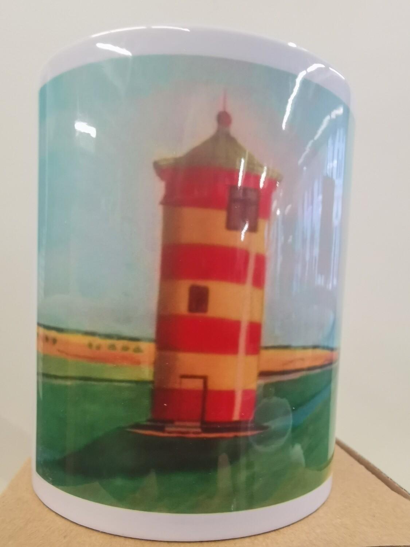 Becher Pilsumer Leuchtturm