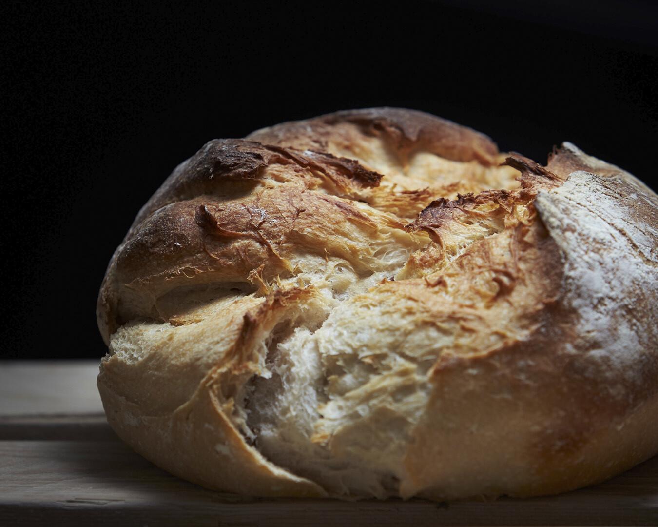 100% WHITE SOURDOUGH  -organic white flour-