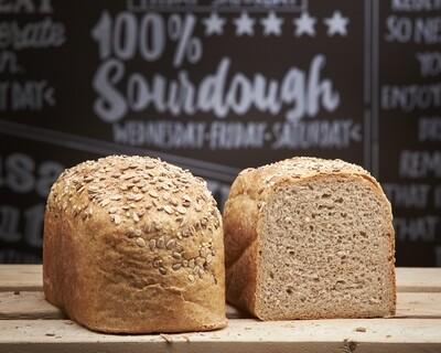 RYE Loaf- organic wholemeal rye  flour-