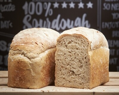 MALTHOUSE Sandwich Loaf- organic malt flour-