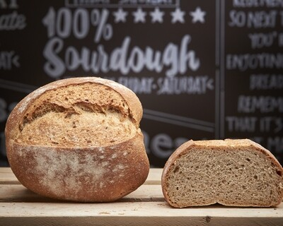 BROWN Loaf - organic mix wholemeal flours-