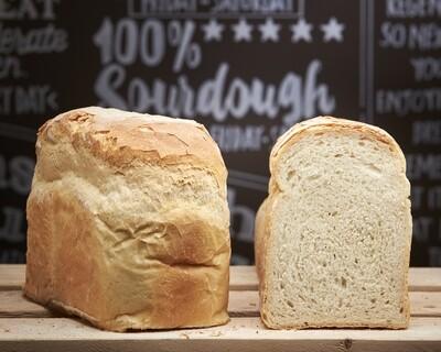 Milk Sandwich  Loaf - organic white flours-