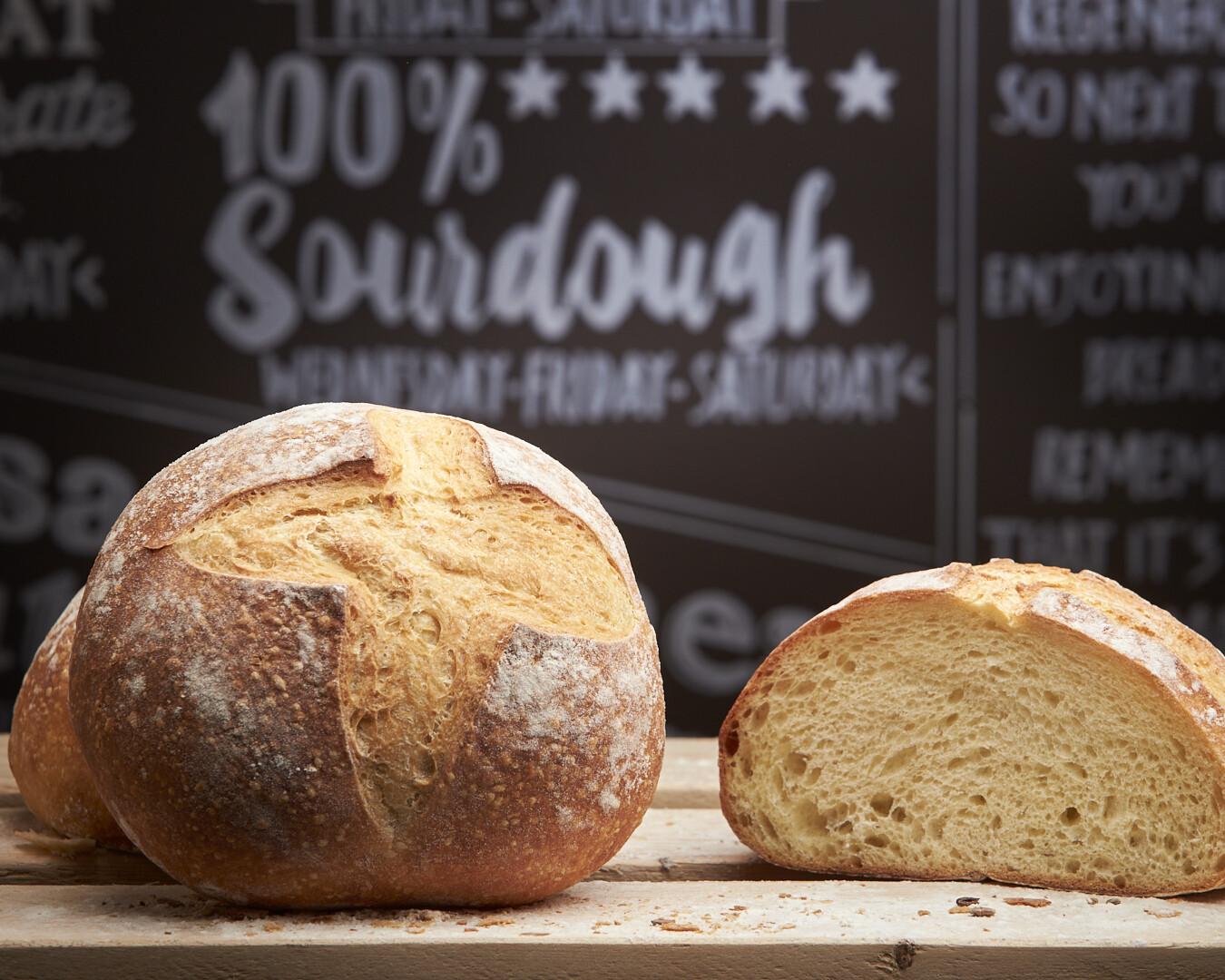 100% SOURDOUGH SEMOLINA- durum wheat flour-