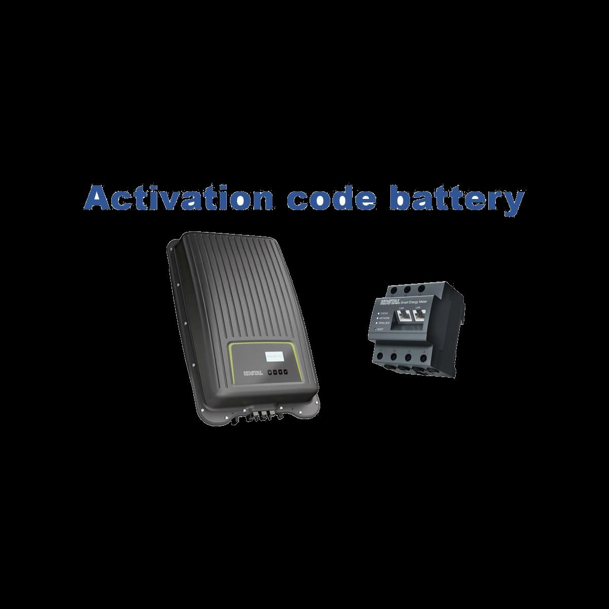 Activatie code KOSTAL Smart Energy Meter