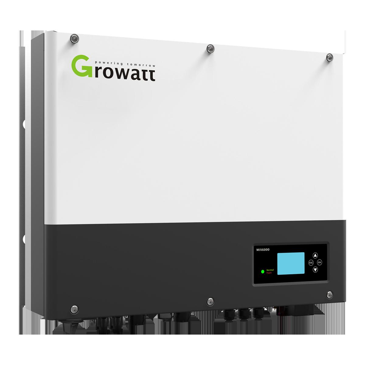 Growatt SPH5000 | Hybride Omvormer | 5 kW, 1PH