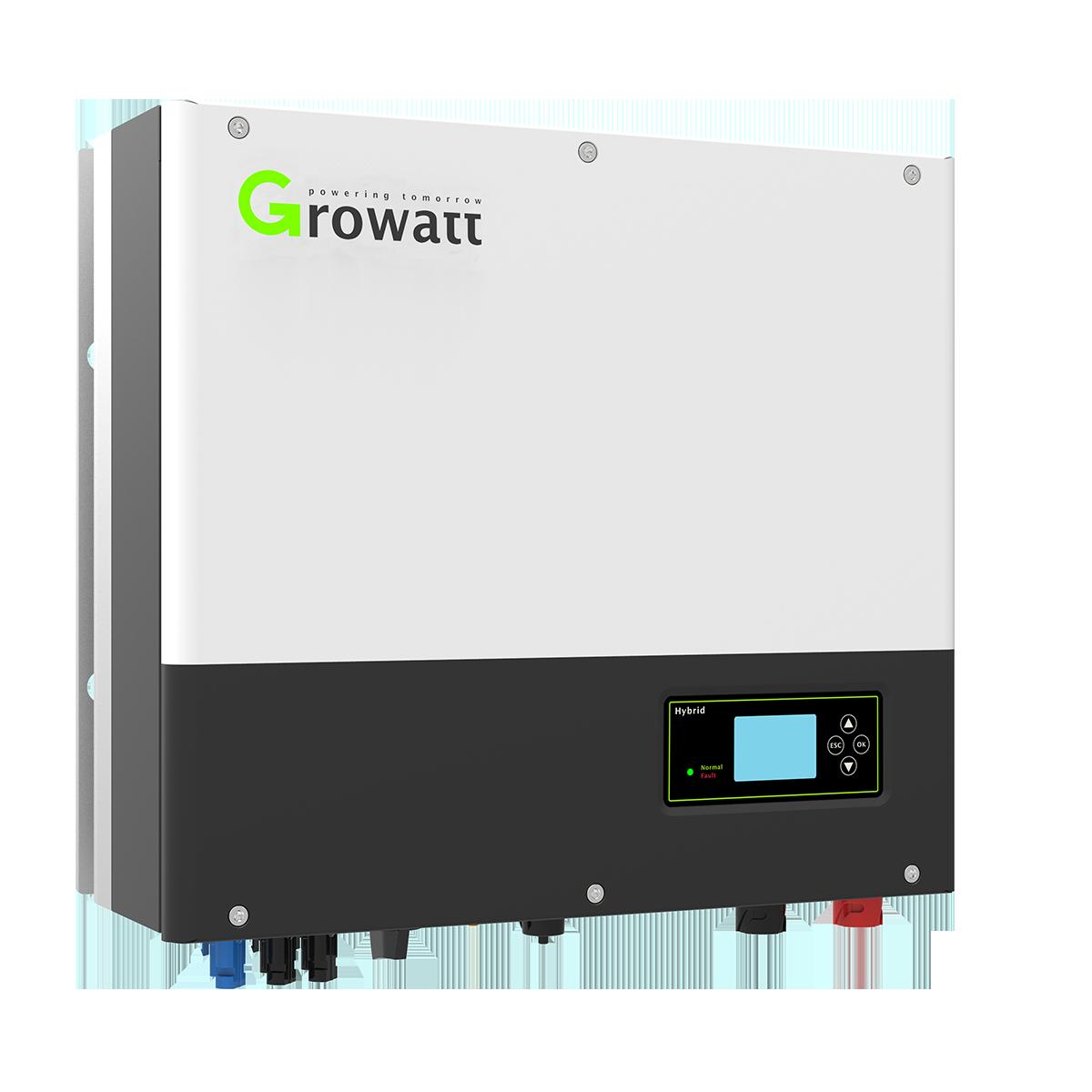 Growatt SPA6000TL3 BH | Retrofit Omvormer | 6 kW, 3PH