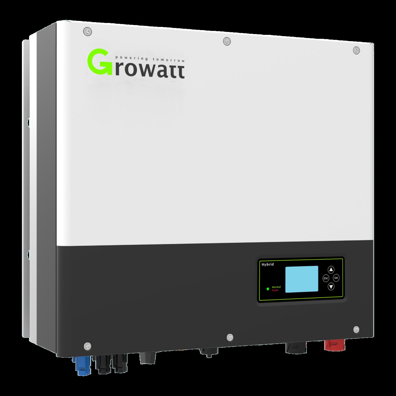 Growatt SPH10000TL3 BH | Hybride Omvormer | 10 kW, 3PH