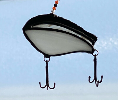 Fishing lure: Fat rap B&W