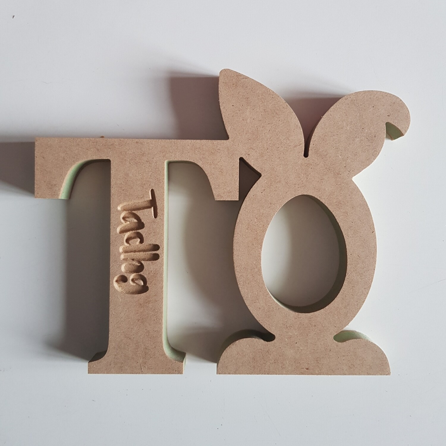 Initial and Bunny Kinder Holder