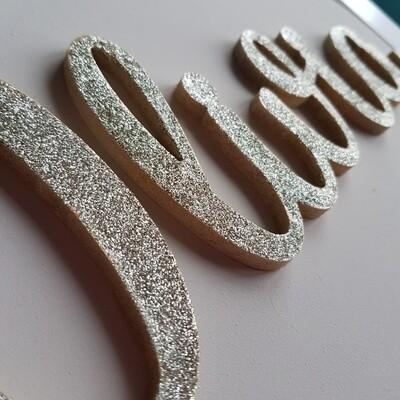 Glitter Name Sign