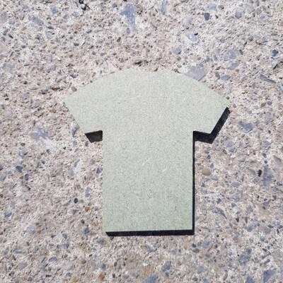 T Shirt Shape 6mm