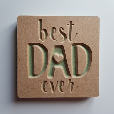 Best DAD ever 18mm