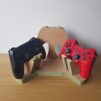 Double Controllers Stand