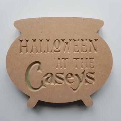 Cauldron Carved 18mm