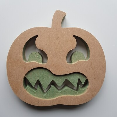 Angry Pumpkin Cutout18mm