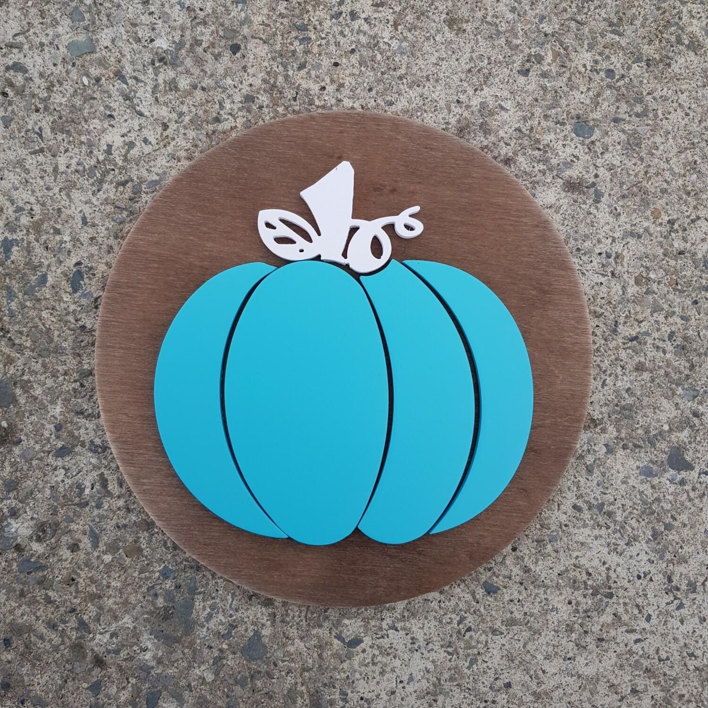 Pumpkin  Plaque