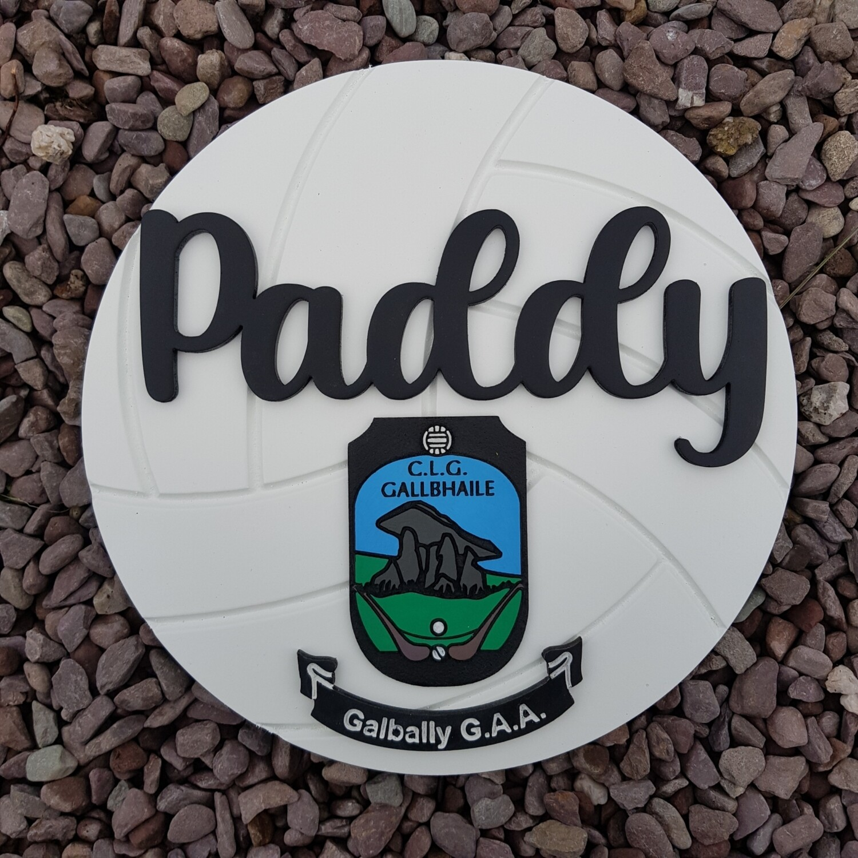 GAA Football Sign