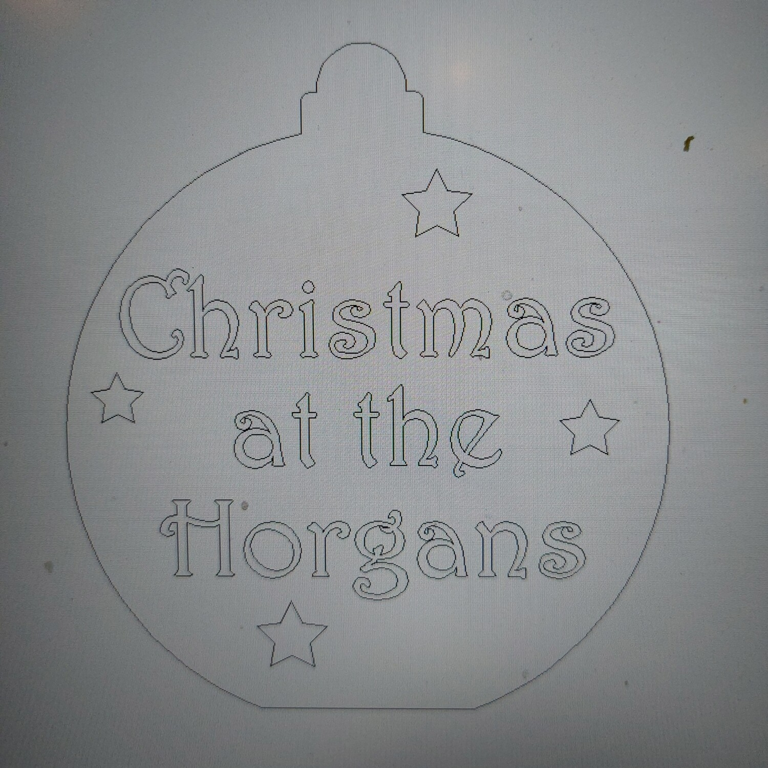 Christmas at the... Bauble Freestanding