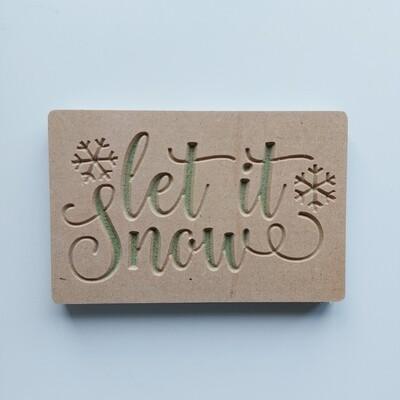 Let it Snow 18mm