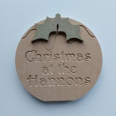 Christmas at the... Christmas Pud Freestanding