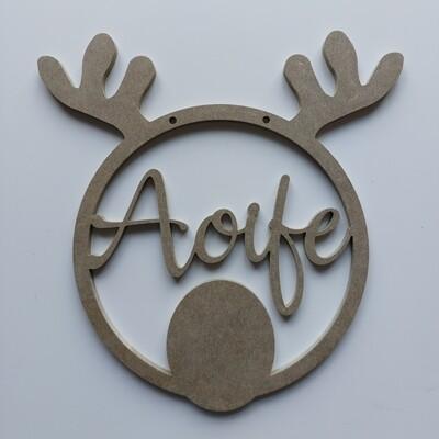 Reindeer Hoop 6mm