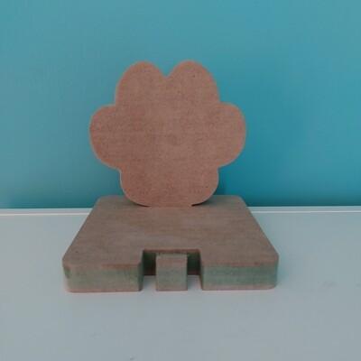 Stocking Holder - Paw Print 18mm