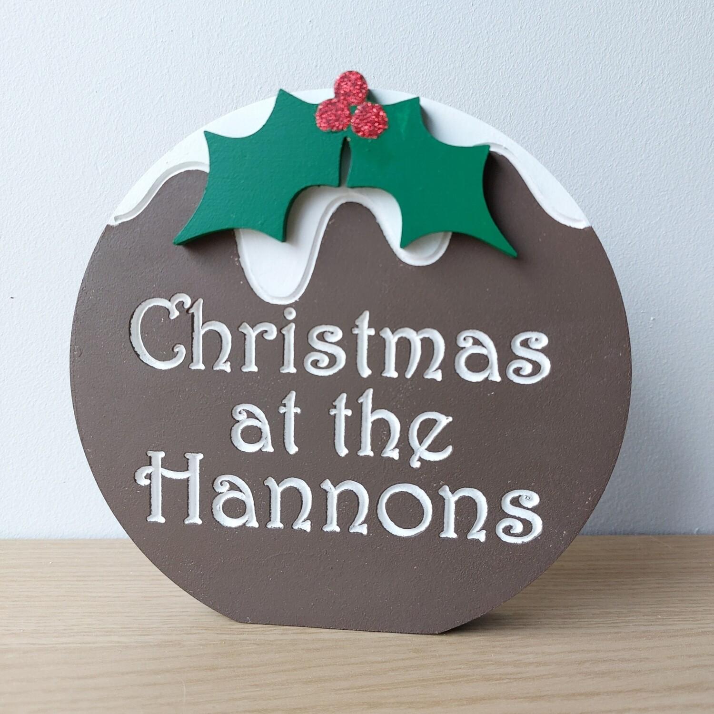 Christmas at the... Christmas Pud