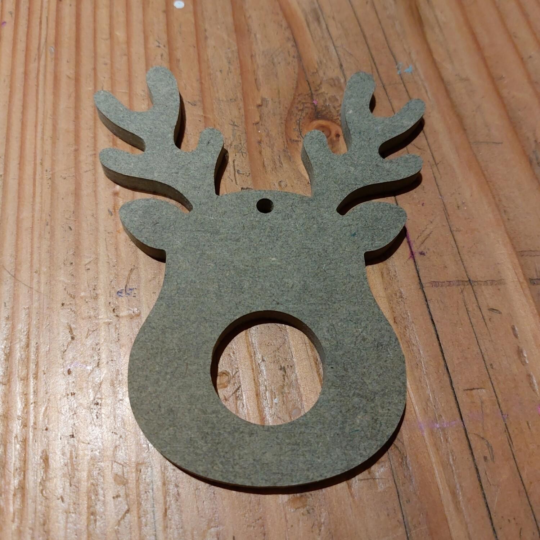Reindeer Lindt Holder Decoration MDF