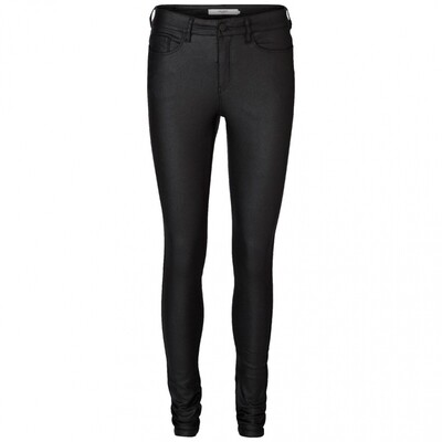 VM SEVEN NW SS SMOOTH COATED PANTS NOOS Black