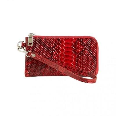 wallet obj ines pu snake Haute Red