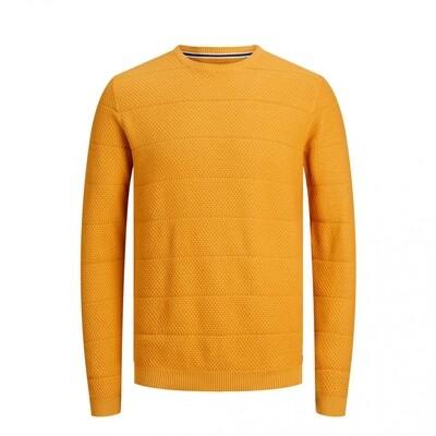 JCO SNOW KNIT CREW NECK NOOS Golden Orange