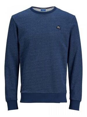 JORFRANKIE SWEAT CREW NECK Navy Blazer/SLIM