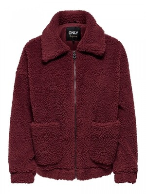 ONLEMMA SHERPA JACKET CC OTW Pomegranate