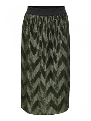 JDYMACI PLEATED SKIRT JRS Forest Night/MELANGE