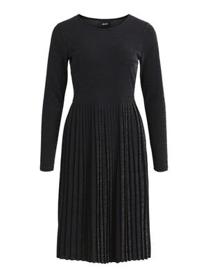 OBJJOANNA L/S DRESS A DIV Black