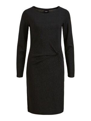 OBJBANANARAMA NEW L/S DRESS .I 100 Black