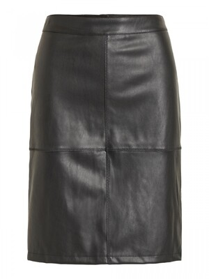 VIPEN NEW COATED SKIRT - NOOS Black