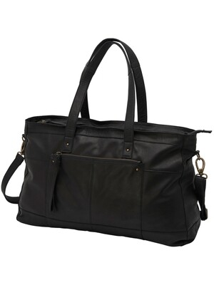 onlBUST LEATHER TRAVEL BAG ACC Black