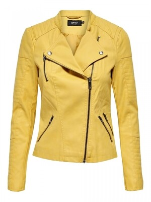 ONLAVA FAUX LEATHER BIKER OTW NOOS Yolk